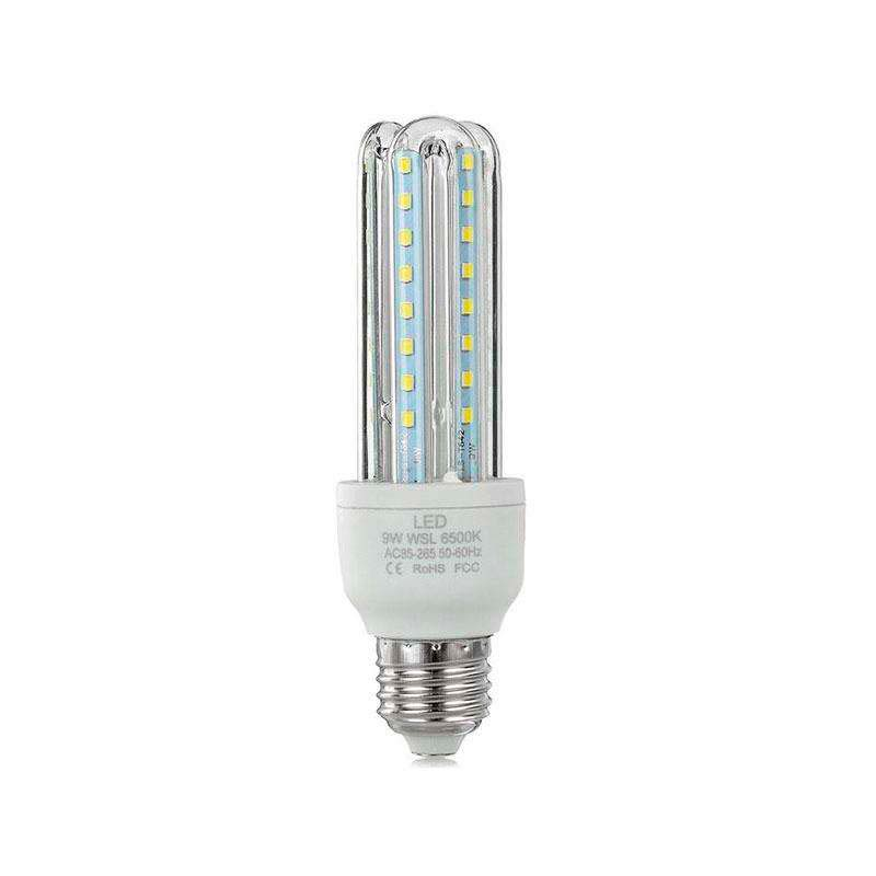 Bombilla Corn E27 SMD2835 LED 9W, Blanco neutro